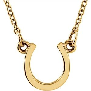 Jewelry - 14K Gold Lucky Horseshoe Necklace